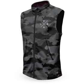 Loose Riders Technical Vest Men, charcoal camo